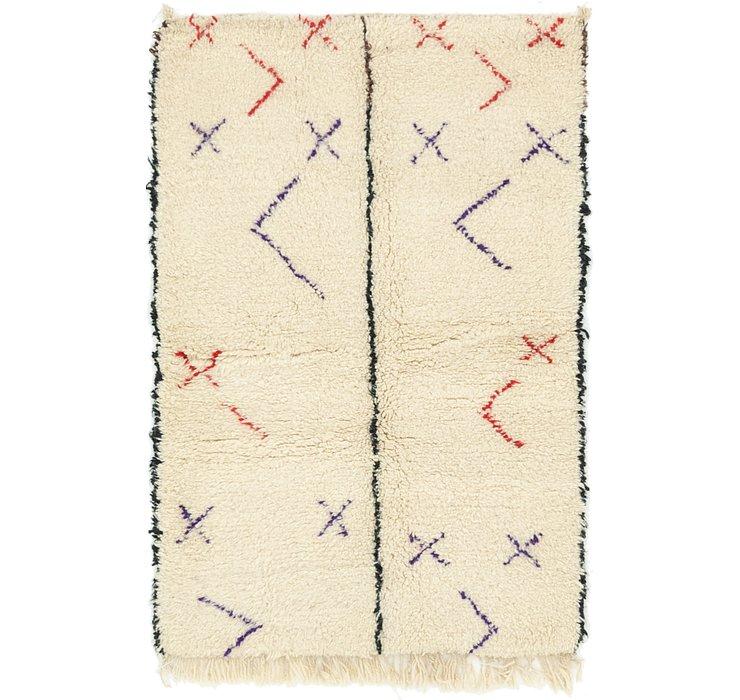 3' 3 x 5' 2 Moroccan Rug