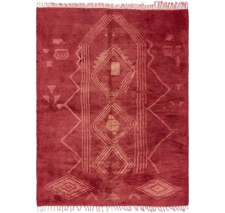 8' 3 x 10' 8 Moroccan Rug
