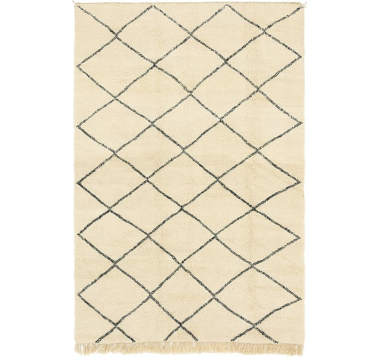 HandKnotted 7' 2 x 11' 5 Moroccan Rug