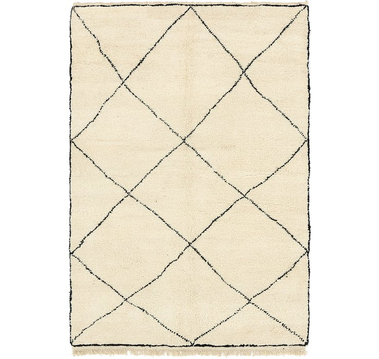 6' 3 x 9' 8 Moroccan Rug