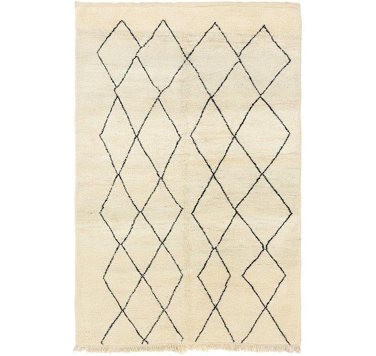 6' 9 x 10' 3 Moroccan Rug
