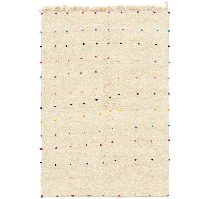6' 7 x 9' 5 Moroccan Rug