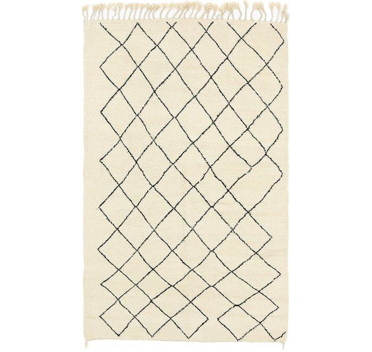 6' x 10' Moroccan Rug
