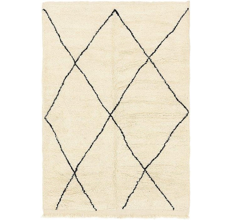 6' 4 x 9' 7 Moroccan Rug