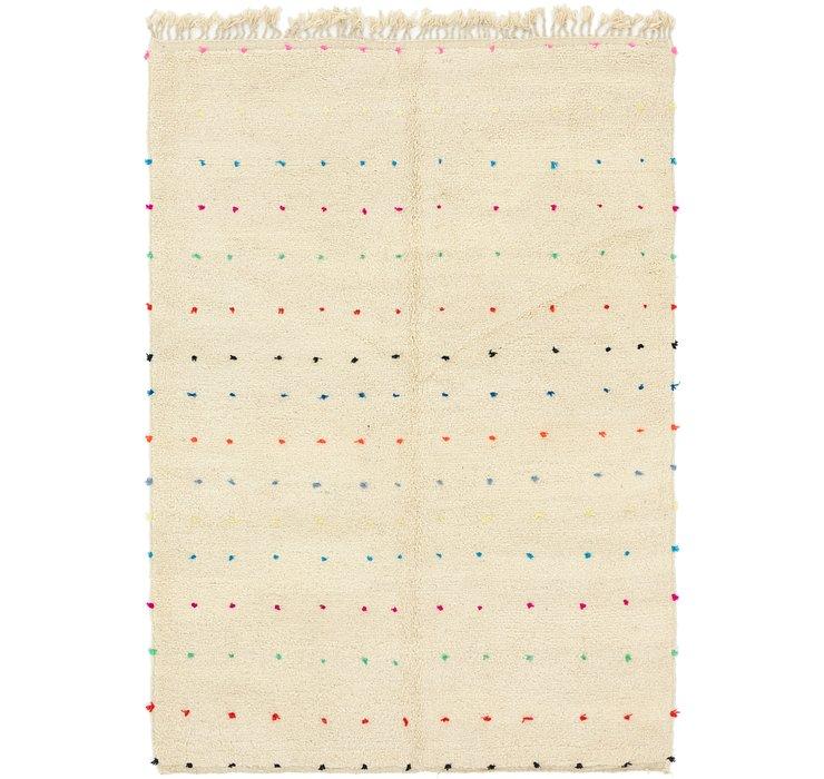 6' 10 x 9' 9 Moroccan Rug
