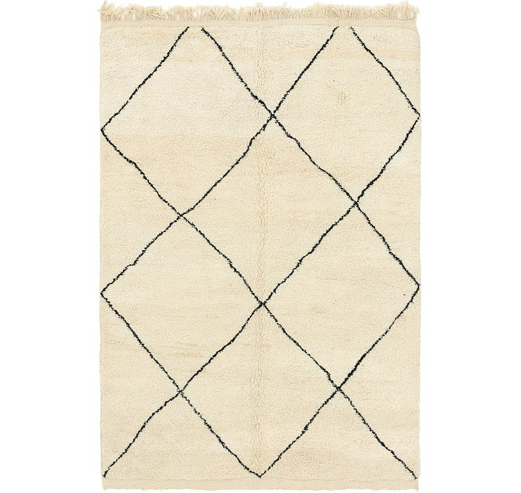 HandKnotted 6' 6 x 9' 10 Moroccan Rug
