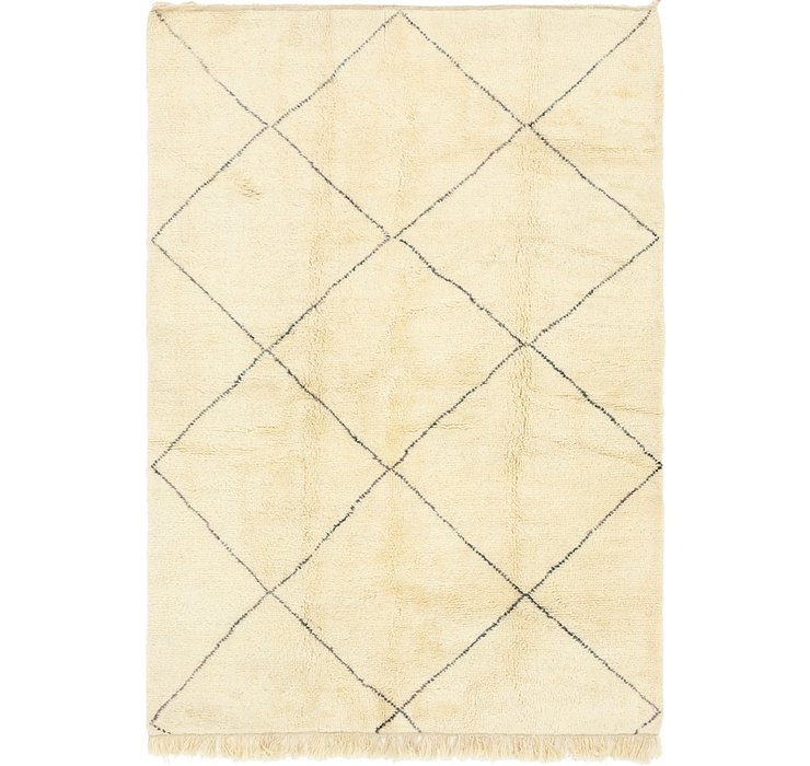 HandKnotted 6' 9 x 9' 10 Moroccan Rug