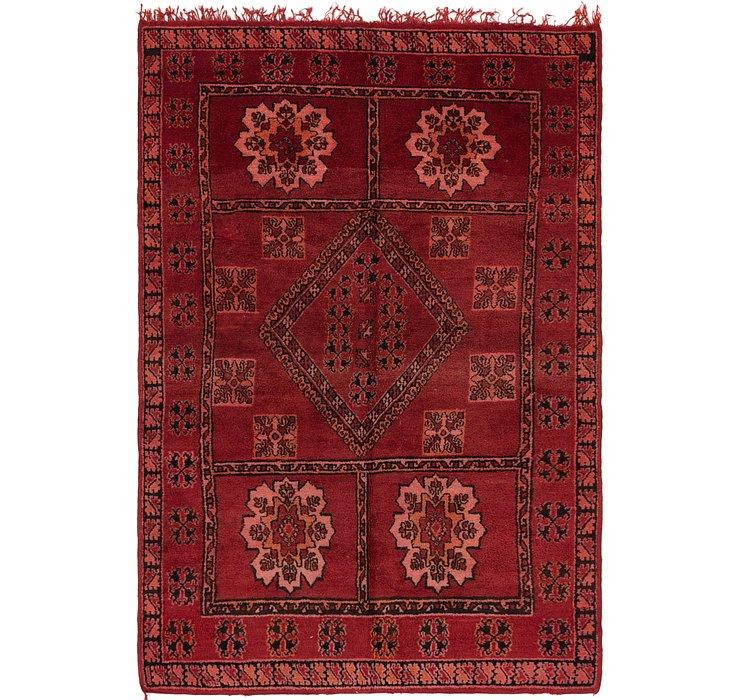 6' 2 x 9' 2 Moroccan Rug