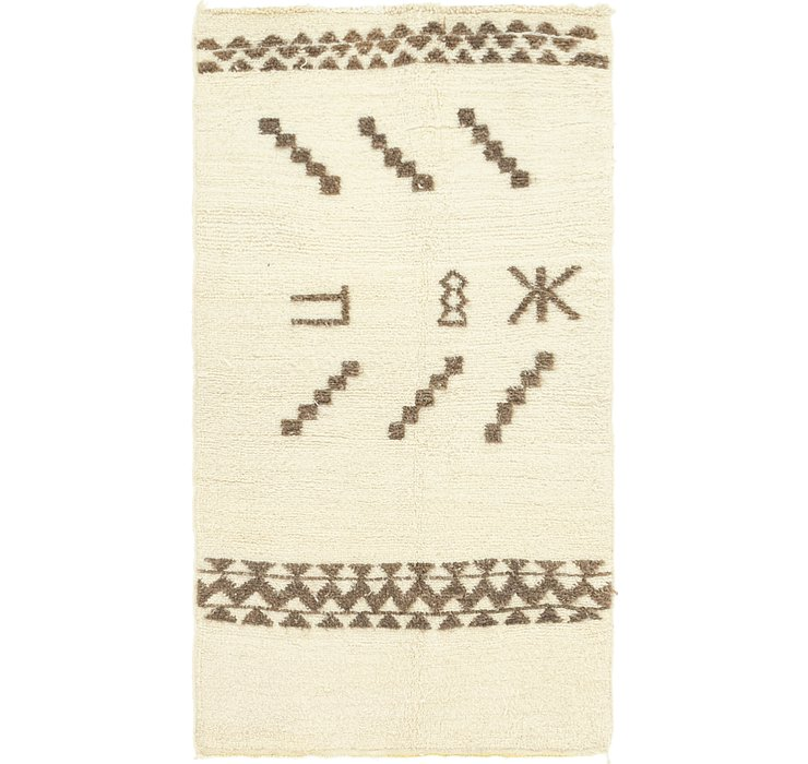 3' x 5' 6 Moroccan Rug
