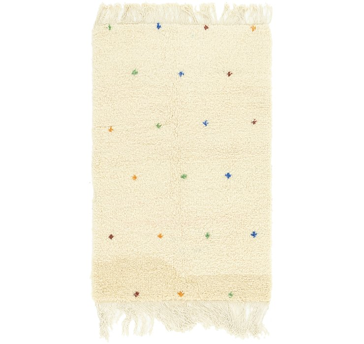 3' x 5' Moroccan Rug