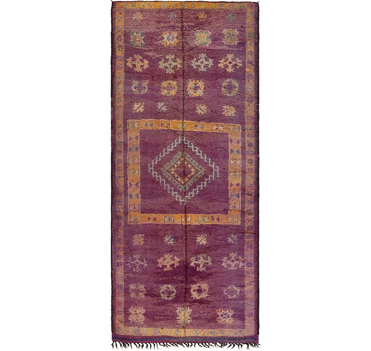 HandKnotted 6' 6 x 15' 9 Moroccan Runner Rug