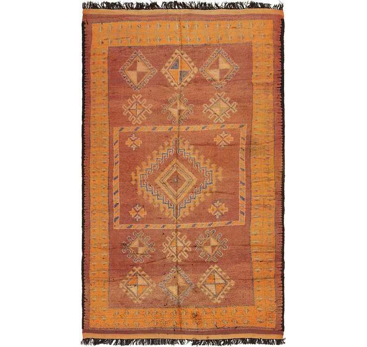 HandKnotted 6' 5 x 11' 2 Moroccan Rug