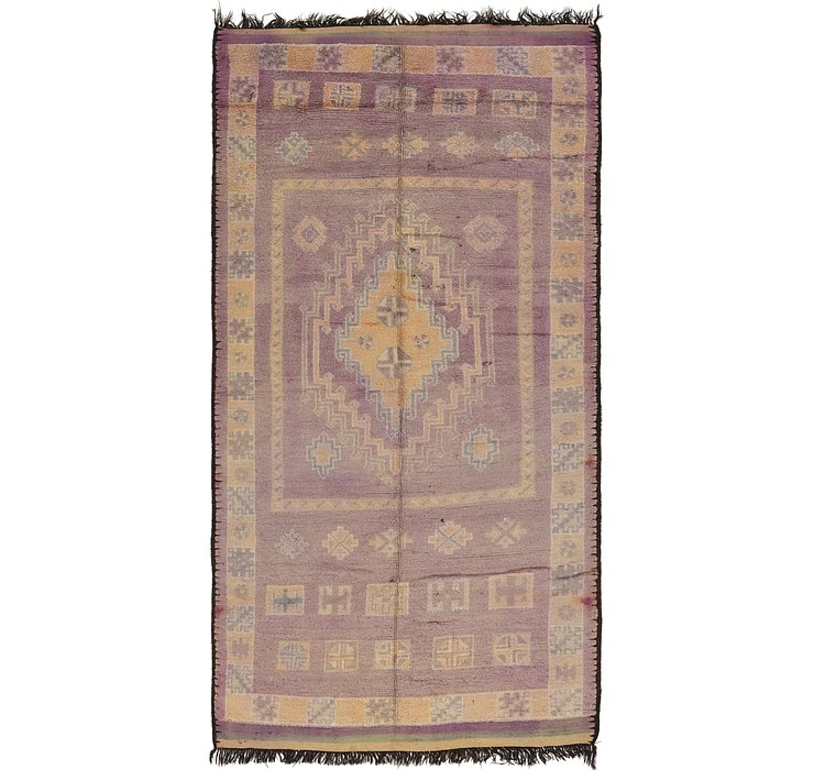 HandKnotted 6' 5 x 14' 6 Moroccan Runner Rug