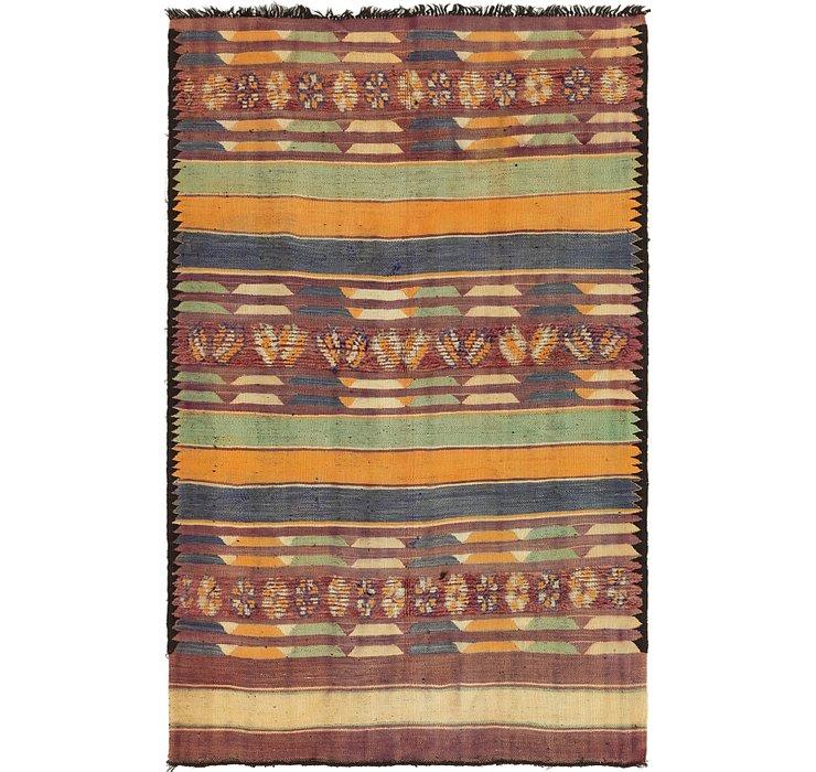 6' x 9' 7 Moroccan Rug
