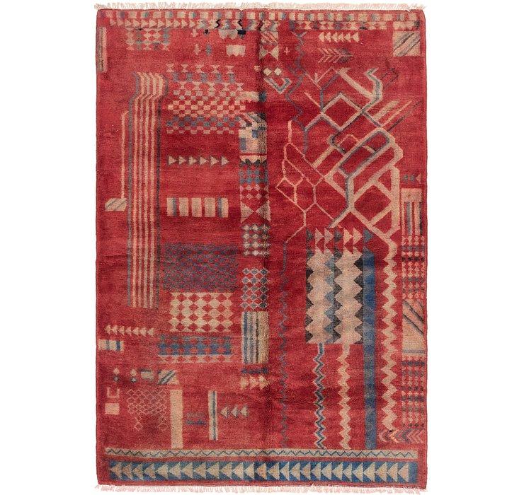 6' 4 x 9' 5 Moroccan Rug