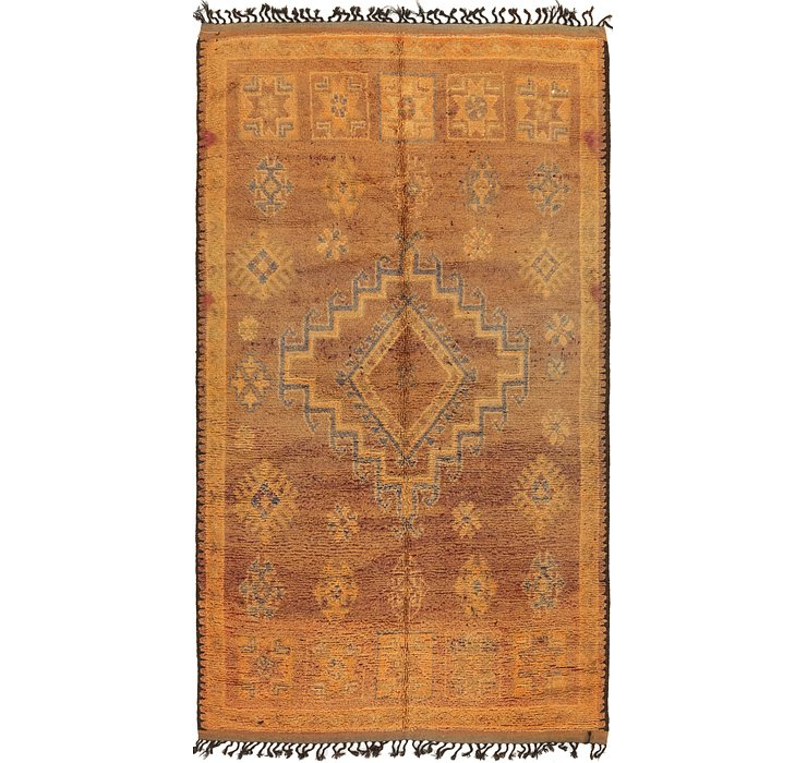 HandKnotted 6' 4 x 11' 2 Moroccan Runner Rug