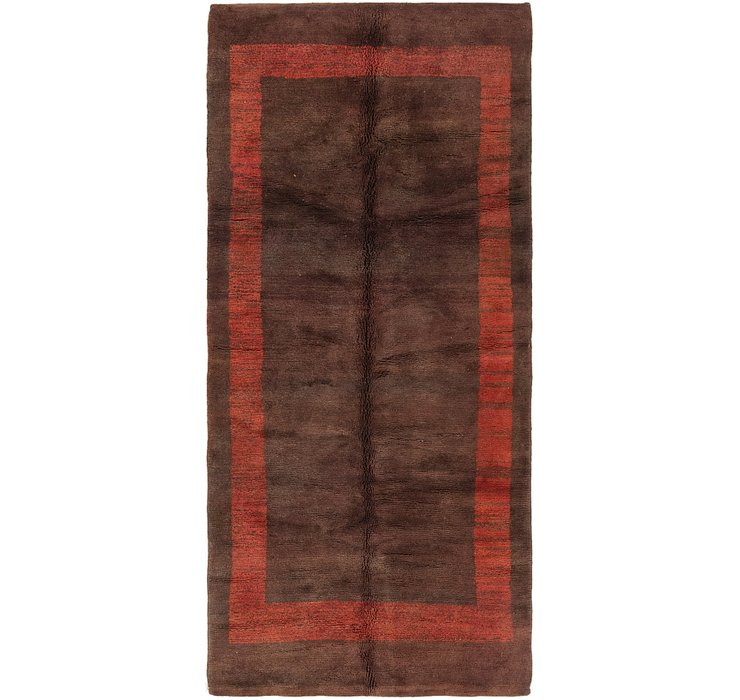 HandKnotted 4' 4 x 9' 7 Moroccan Runner Rug