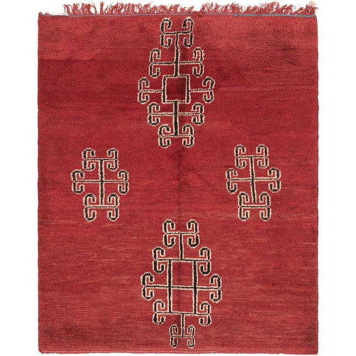 4' 10 x 5' 9 Moroccan Rug
