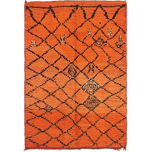 4' 10 x 6' 8 Moroccan Rug