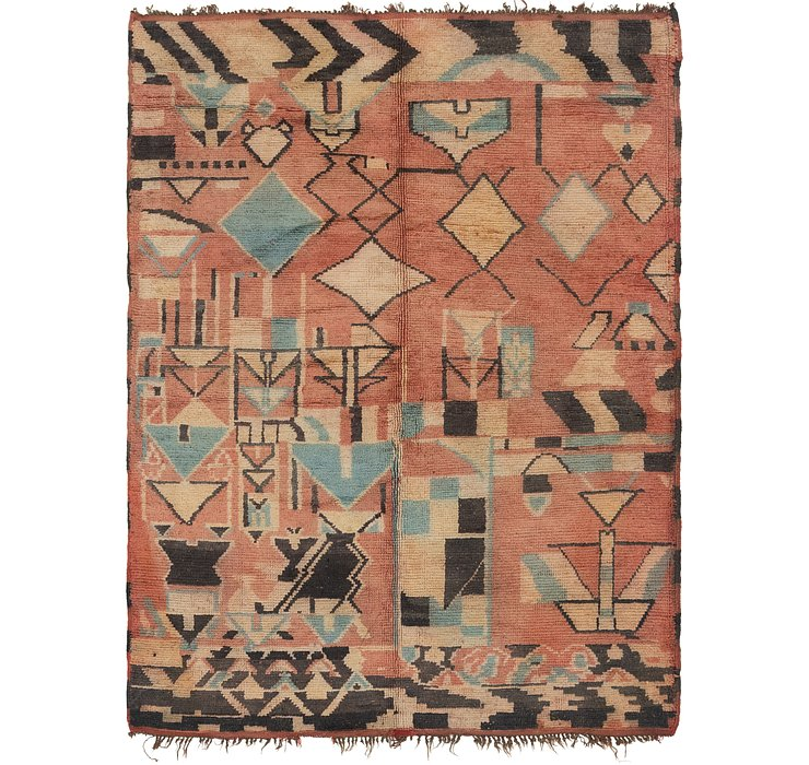 5' 5 x 7' 6 Moroccan Rug