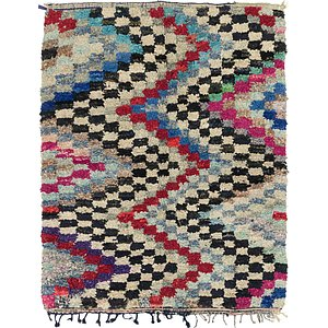 4' 7 x 6' 4 Moroccan Rug