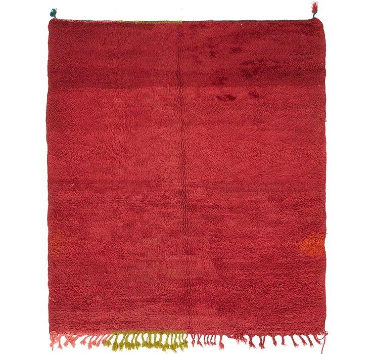 4' 9 x 5' 6 Moroccan Rug