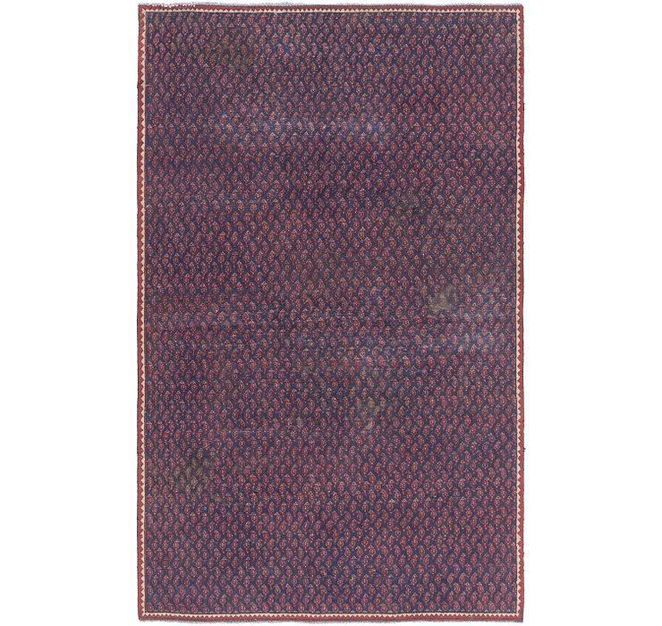 5' x 8' 2 Mahal Persian Rug