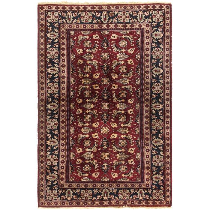 4' 4 x 6' 9 Jaipur Agra Oriental Rug