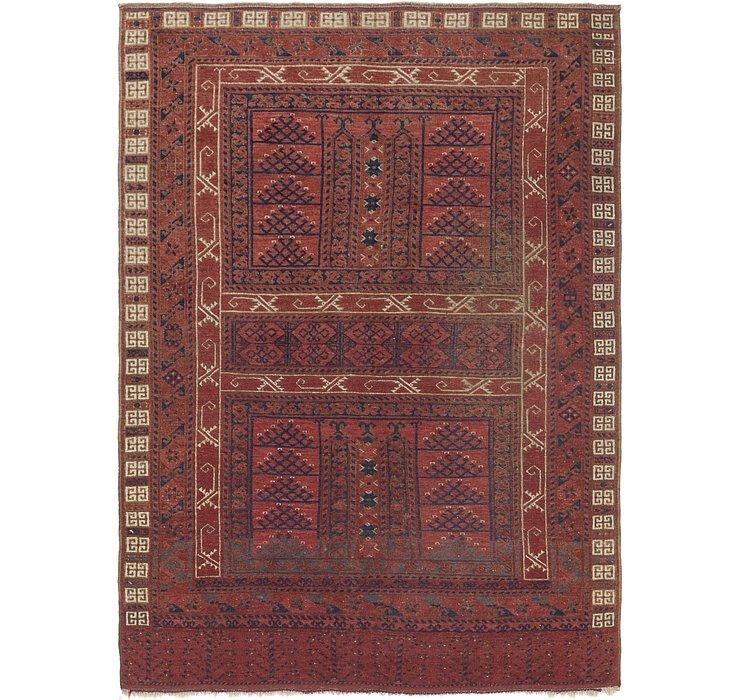 5' 5 x 7' 9 Afghan Ersari Oriental ...