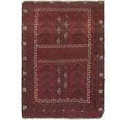 Link to 5' 3 x 7' 9 Afghan Ersari Oriental Rug
