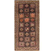 Link to 4' 4 x 9' Shiraz-Lori Persian Runner Rug