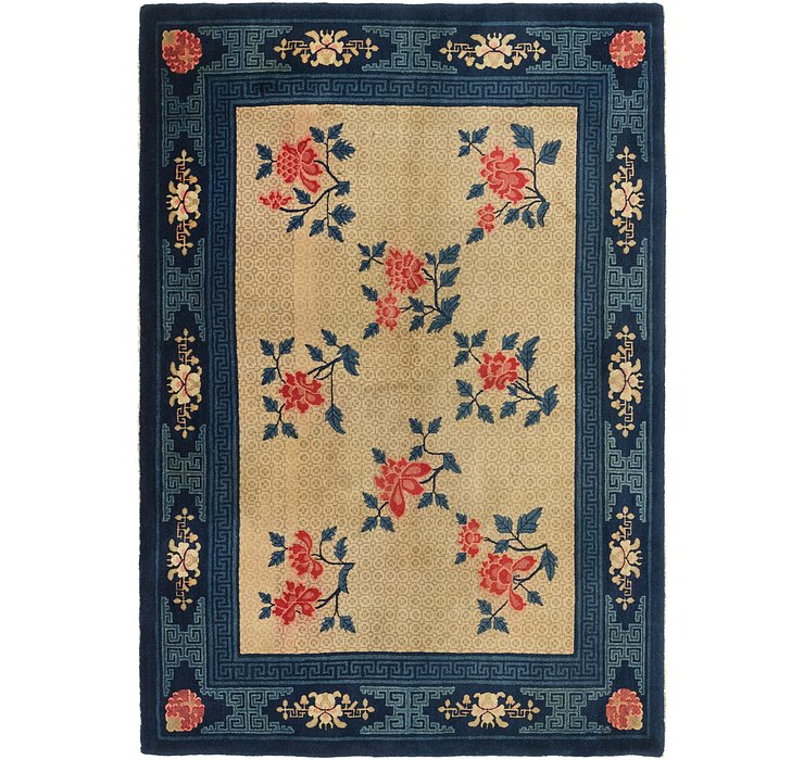 165cm x 245cm Antique Finish Rug