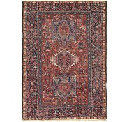 Link to 4' 9 x 6' 6 Gharajeh Persian Rug