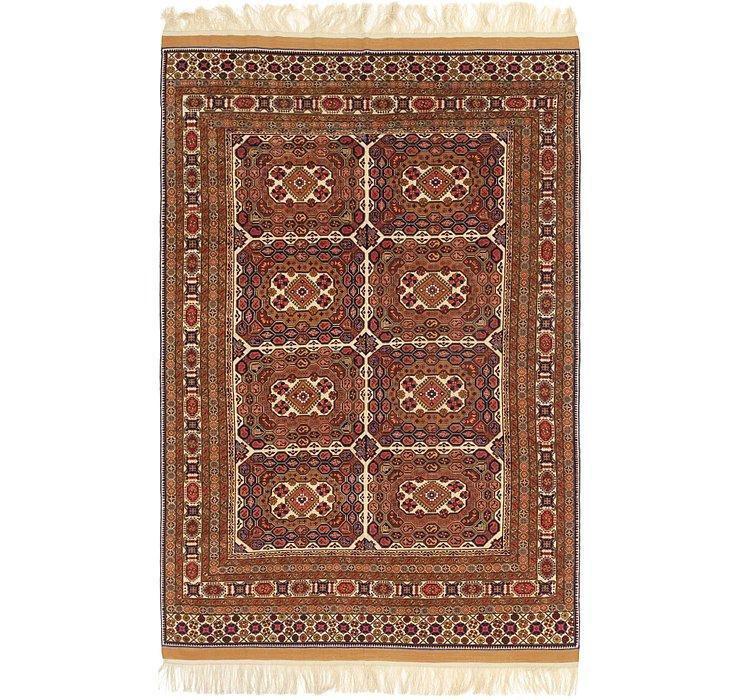 6' 10 x 10' 6 Bokhara Oriental Rug