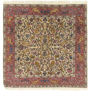 Link to 6' 4 x 6' 7 Tabriz Square Rug item page
