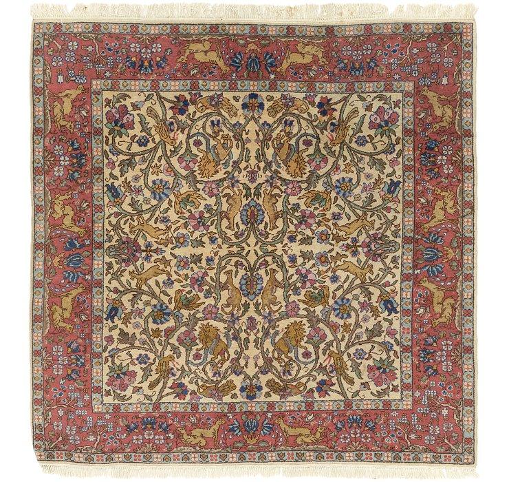 6' 4 x 6' 7 Tabriz Square Rug