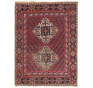 Link to 5' x 6' 7 Hamedan Persian Rug