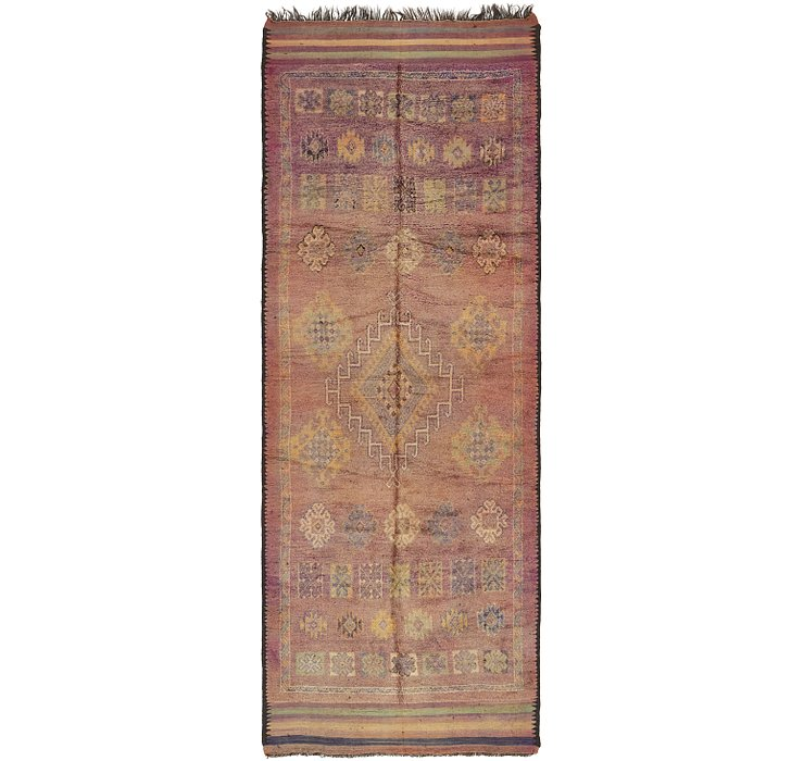 HandKnotted 6' x 16' 10 Moroccan Runner Rug