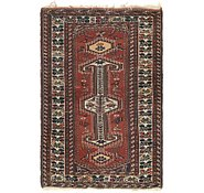 Link to 3' 7 x 5' 6 Shiraz Persian Rug
