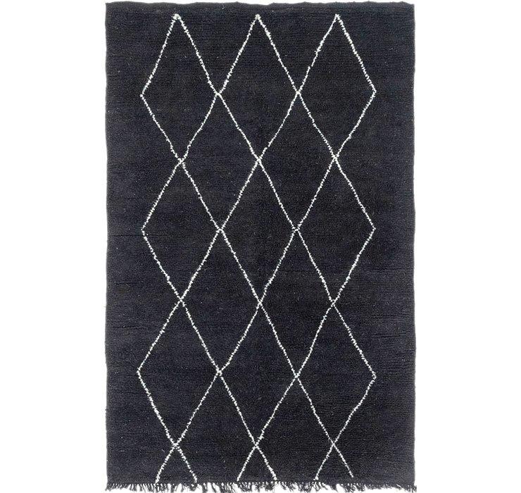 4' 10 x 7' 8 Moroccan Rug