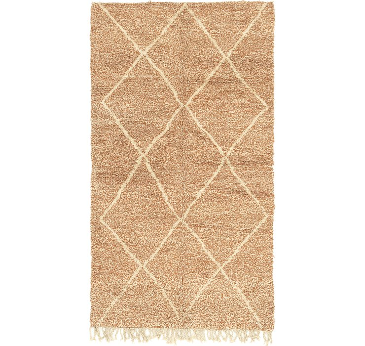HandKnotted 5' x 8' 8 Moroccan Rug