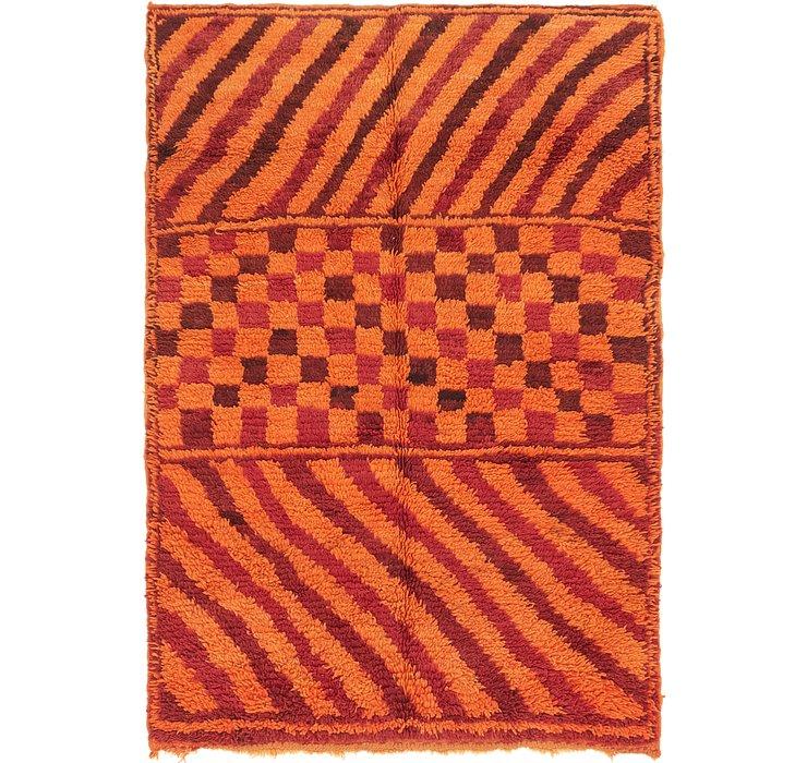 5' 2 x 7' 5 Moroccan Rug