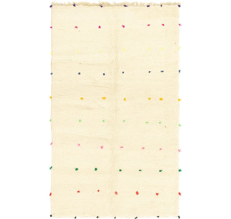 5' 3 x 8' 8 Moroccan Rug
