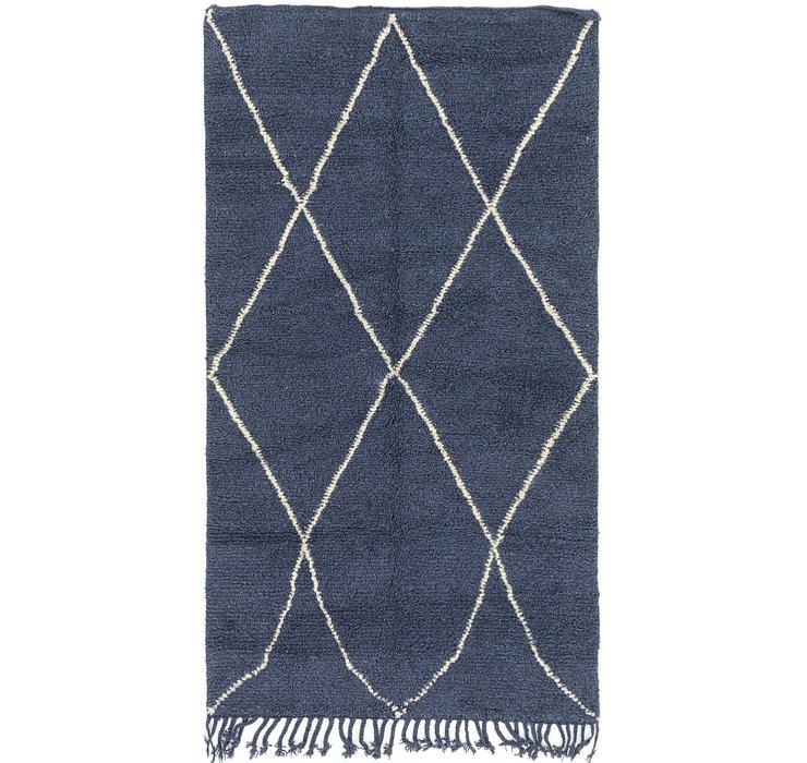 4' 8 x 8' 6 Moroccan Rug
