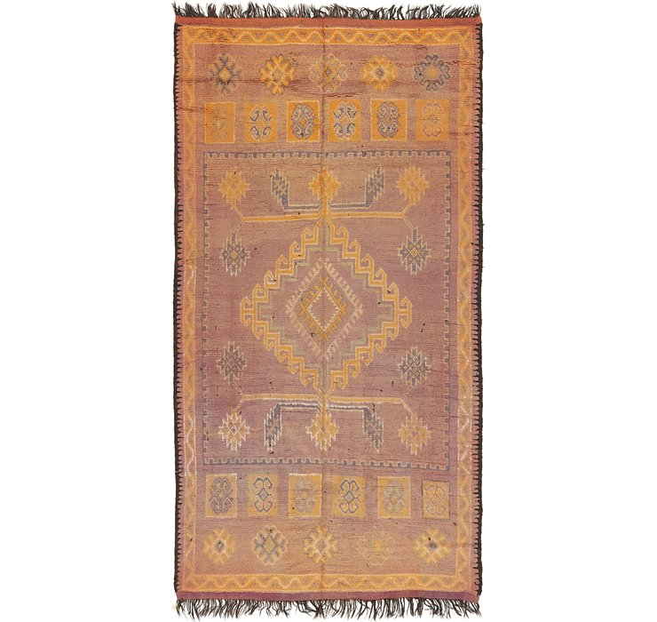 6' x 12' Moroccan Runner Rug
