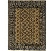 Link to 5' x 6' 6 Afghan Akhche Square Rug