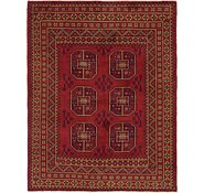 Link to 5' x 6' 5 Afghan Akhche Square Rug