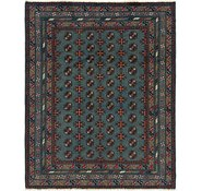 Link to 5' x 6' 3 Afghan Akhche Square Rug