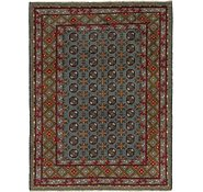 Link to 152cm x 198cm Afghan Akhche Square Rug