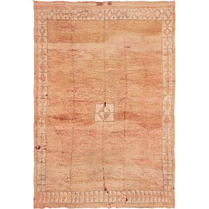 HandKnotted 8' 2 x 11' 9 Moroccan Rug